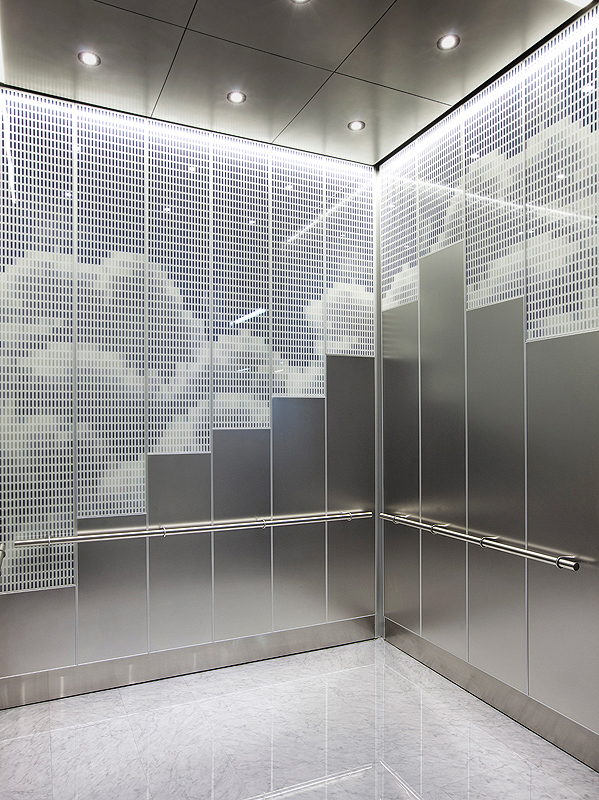 Levele 108 Elevator Interiors Category Grid Forms Surfaces
