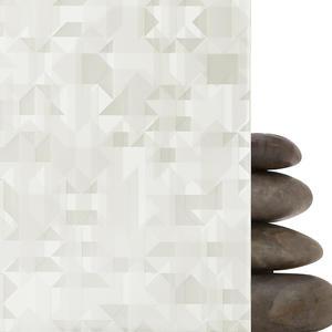 ViviGraphix Graphica glass shown in Reflect configuration with Glacier pattern