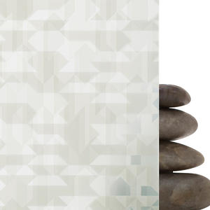 ViviGraphix Graphica glass shown in View configuration with Glacier pattern