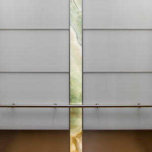LEVELe-107 Elevator Interior with main panels in VIviChrome Chromis