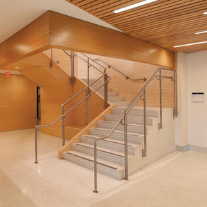 Silhouette Railing System: stainless steel guardrails and handrails