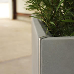 Detail of Miter Planter