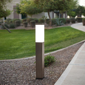 Rincon Bollard shown in Stainless Steel with Satin finish