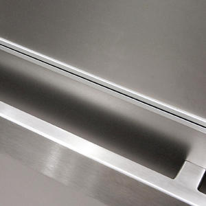 Rectangular handrail in Satin Stainless Steel. 1600 Market Street, Philadelphia