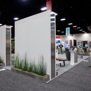 Forms+Surfaces booth at the ASLA 2011 Annual Meeting and EXPO in San Diego.