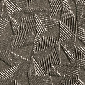 Bonded Nickel Silver with Natural Patina shown in Tilt pattern