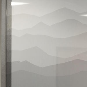 Partition wall in ViviGraphix Gradiance, Montane, White