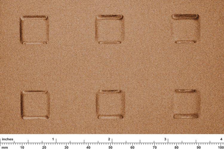 Fused Metal Impression Patterns