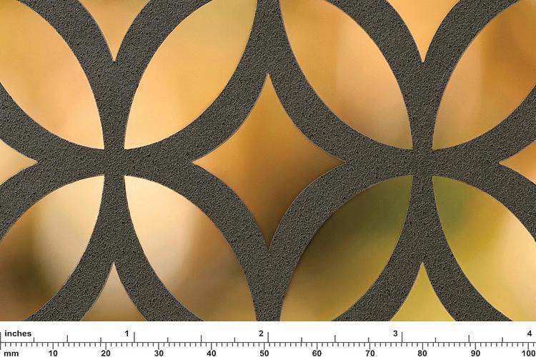 Fused Metal Screen Patterns