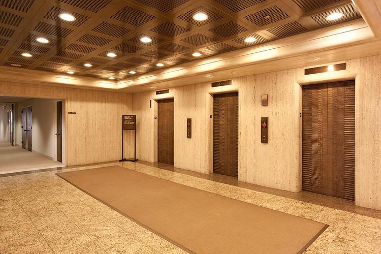 Bonded Metal Elevator Doors