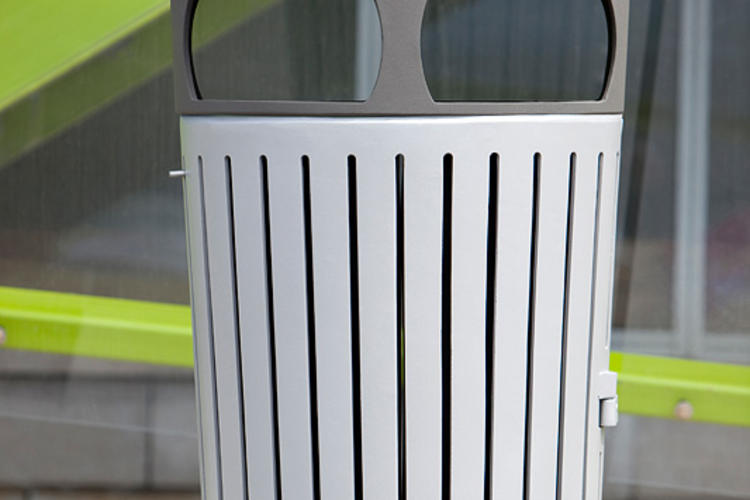 Dispatch Litter & Recycling Receptacle