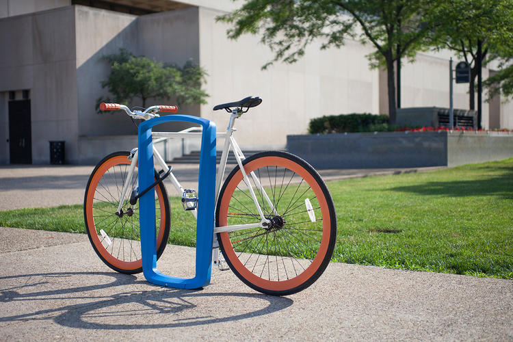 Twist Bike Rack