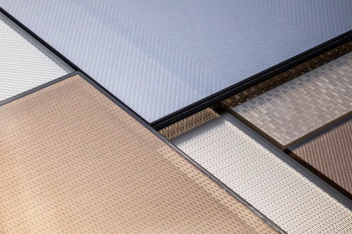 ViviTela Mesh glass in variety of configurations