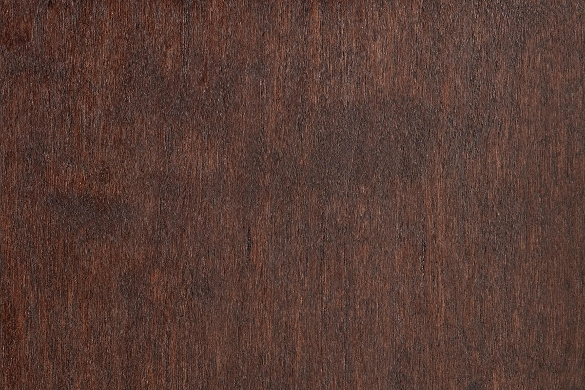 Standard Wood Veneer shown in American Cherry with Dark Mahogany Stain