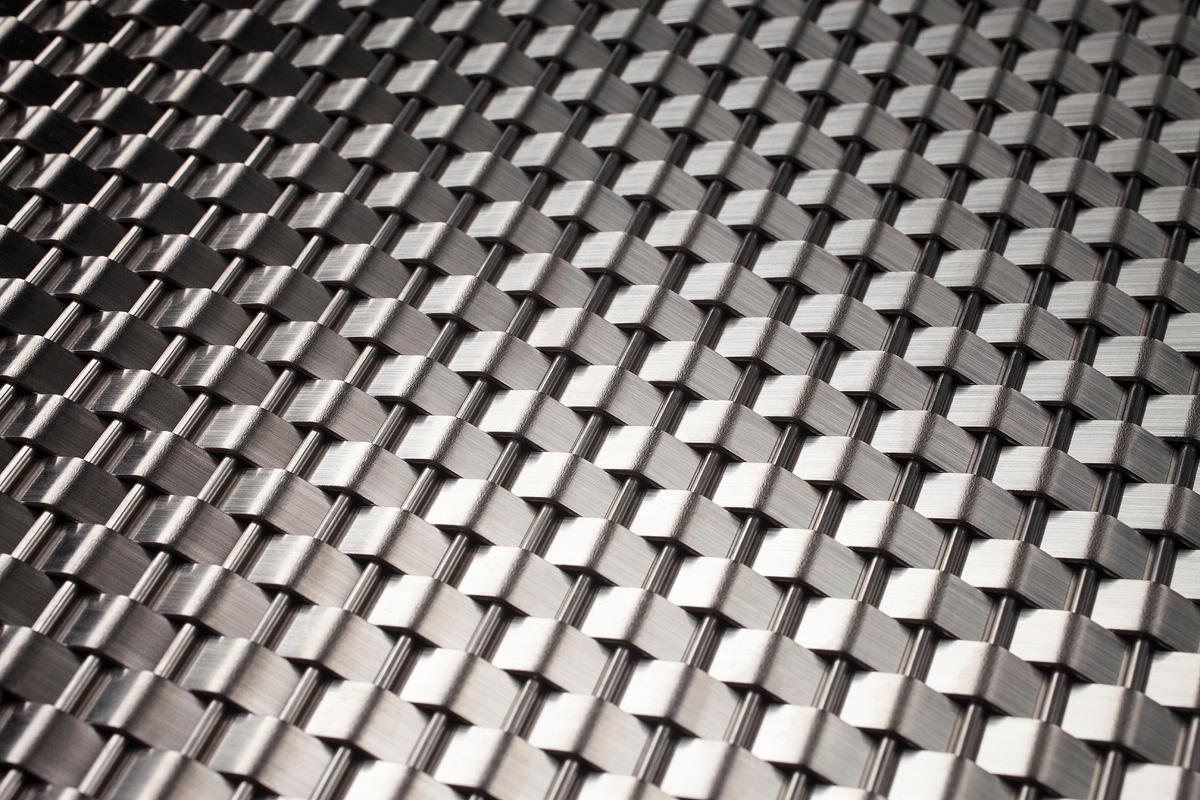 Linq Woven Metal | Architectural | Forms+Surfaces India Steel