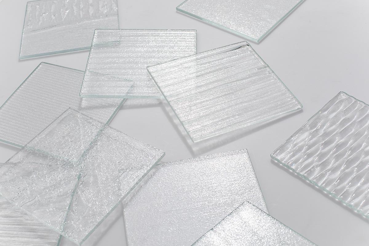 CastGlass Classic Monolithic glass textures