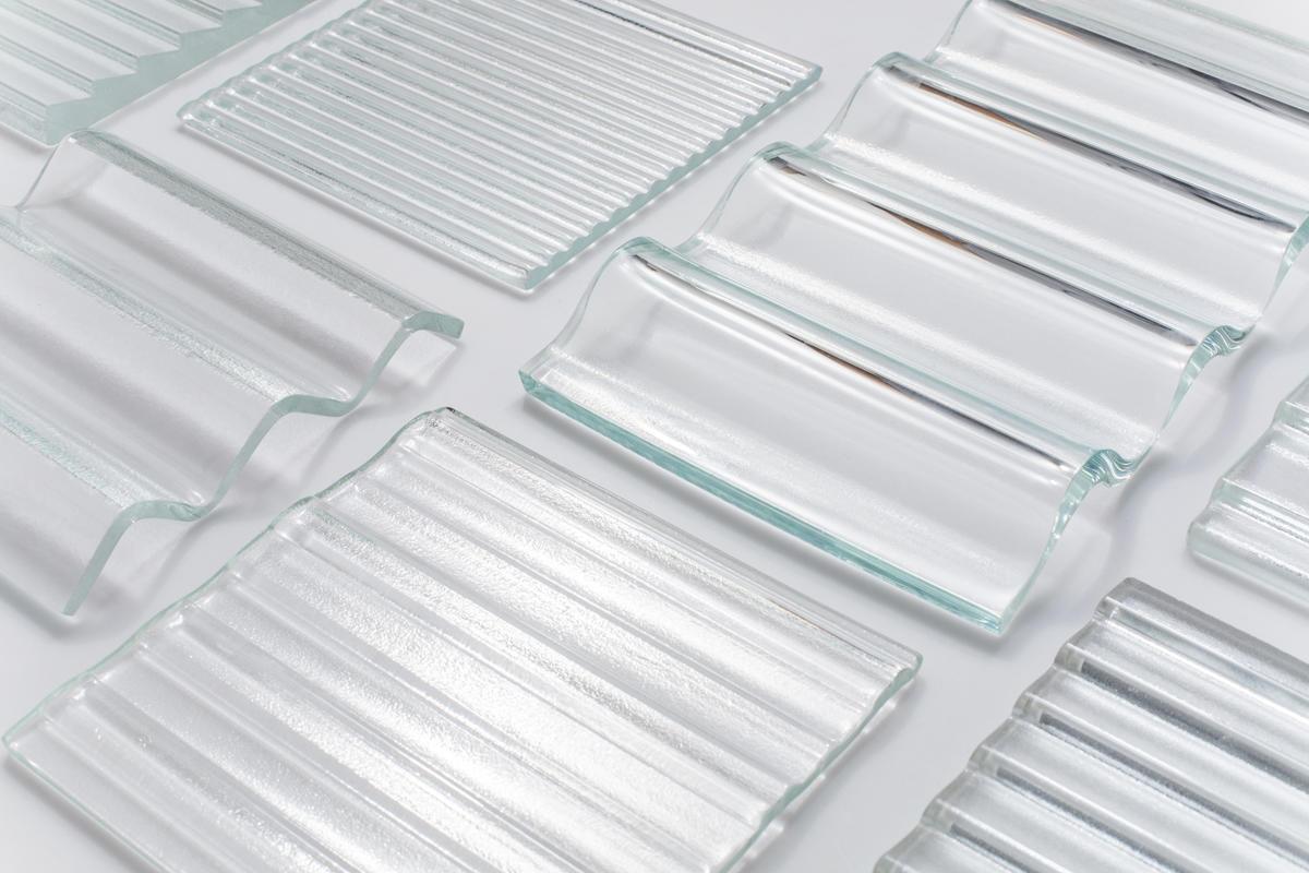 CastGlass Profile Monolithic glass textures