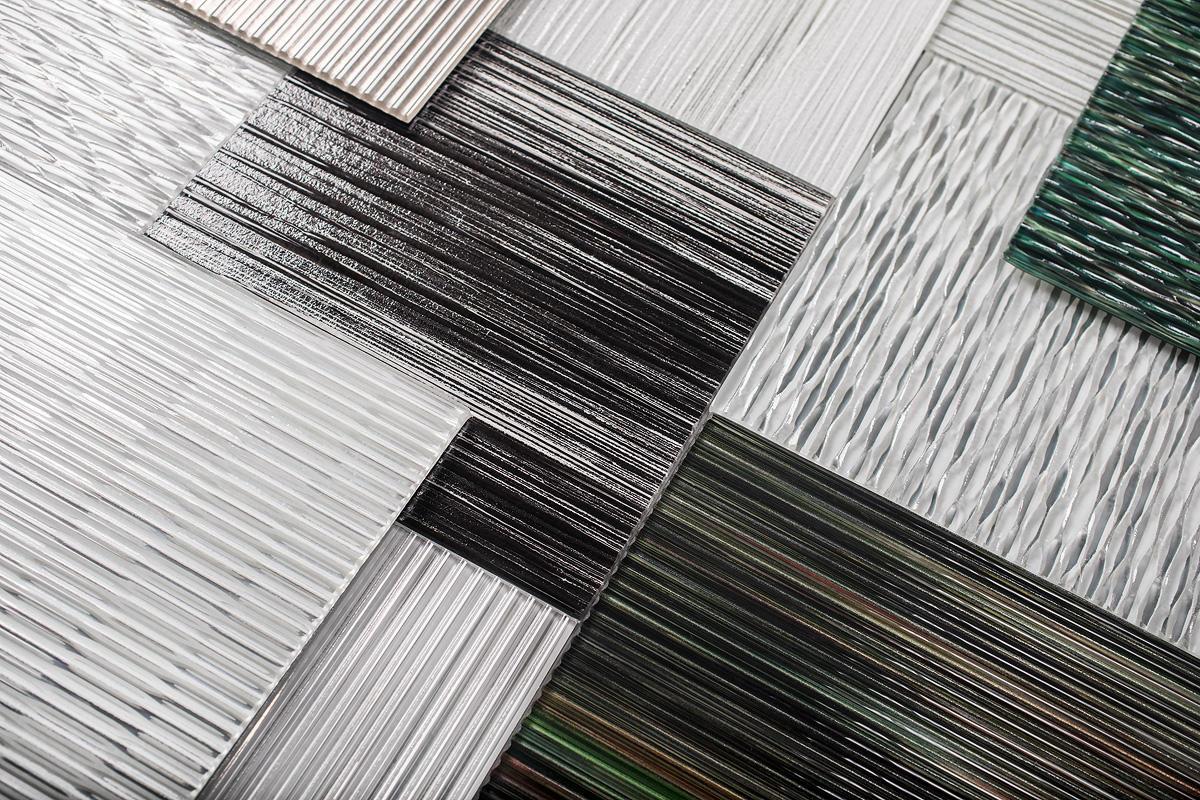 BermanGlass Levels Kiln Cast Glass designs
