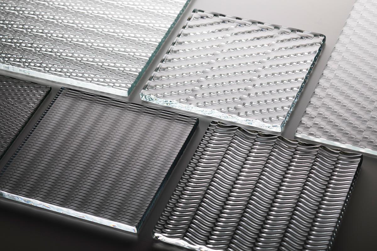 CastGlass Intervals Monolithic glass textures