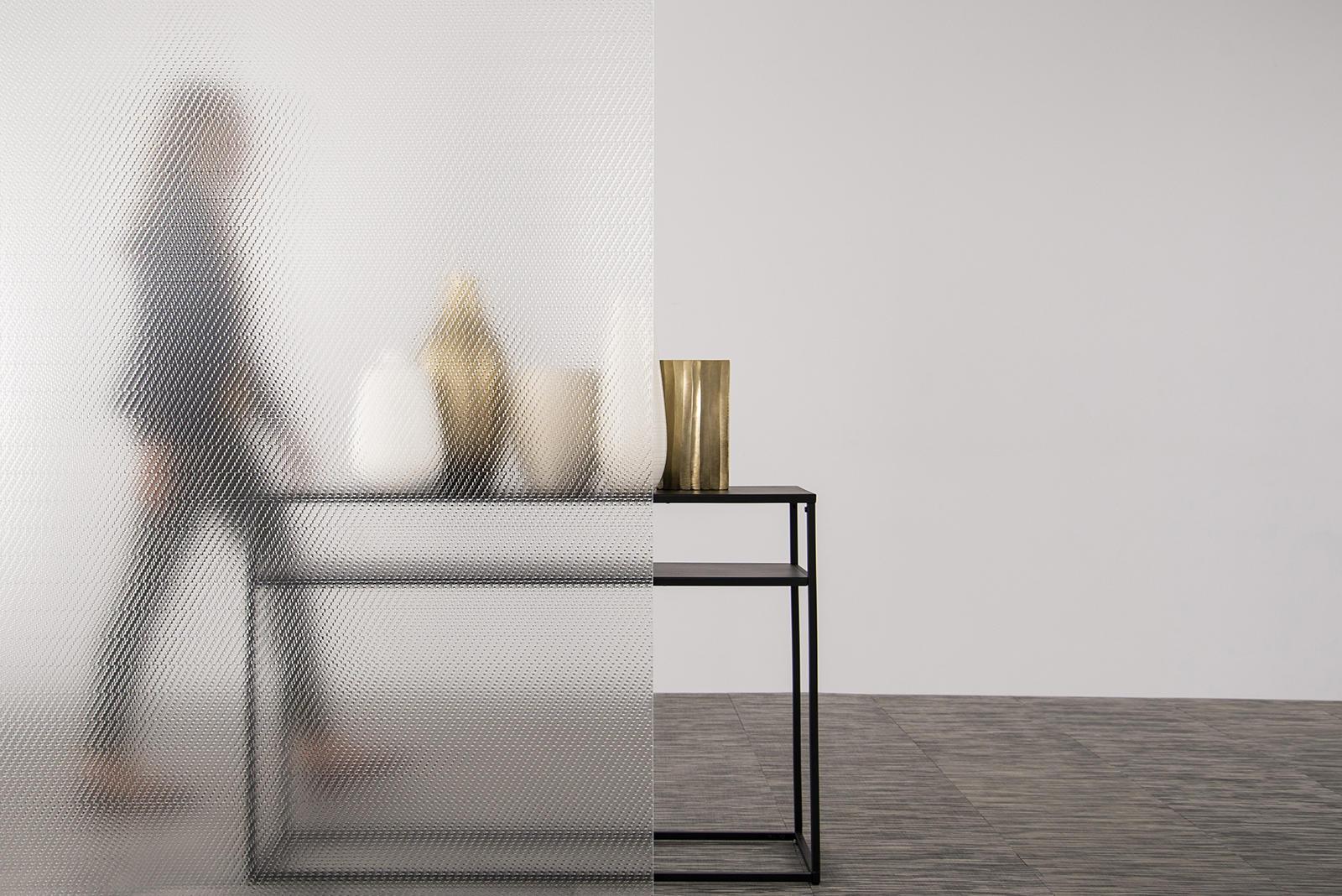 BermanGlass Intervals Kiln Cast Glass in Origin texture