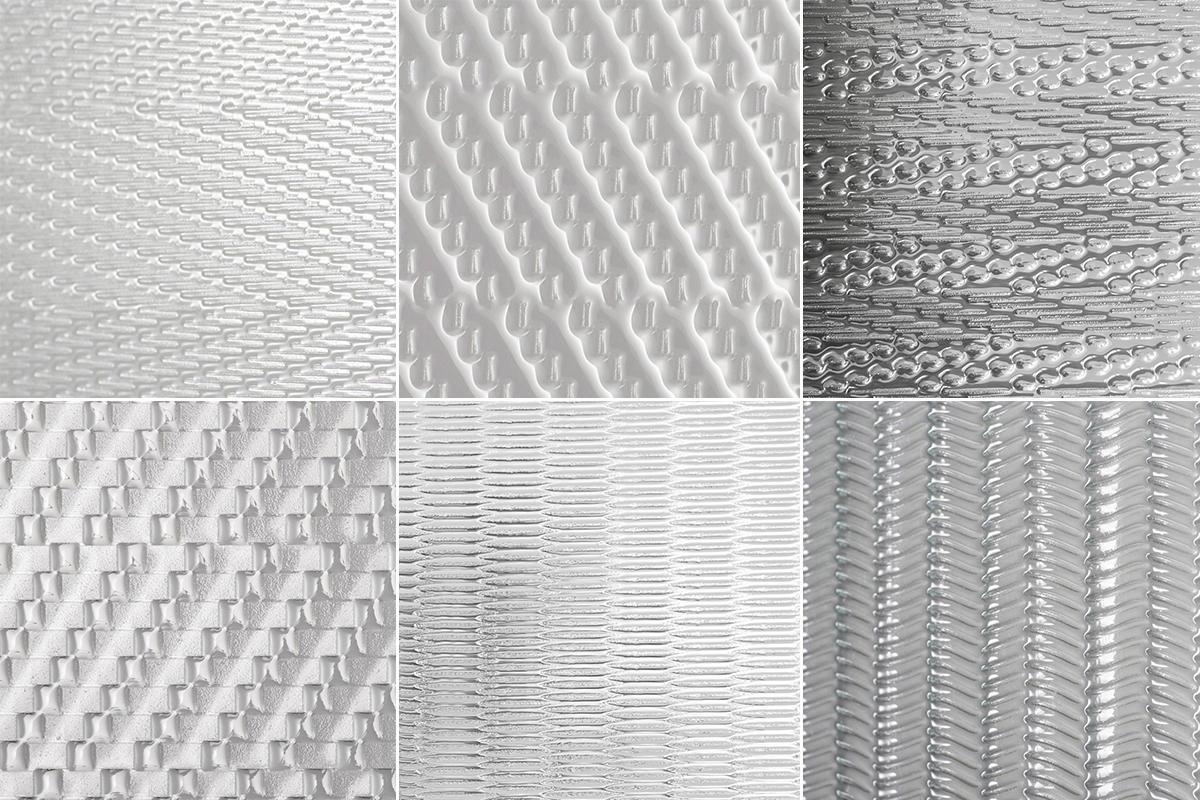 BermanGlass Intervals Kiln Cast Glass: Coda, Locus, Octave, Origin, Prose, Verse