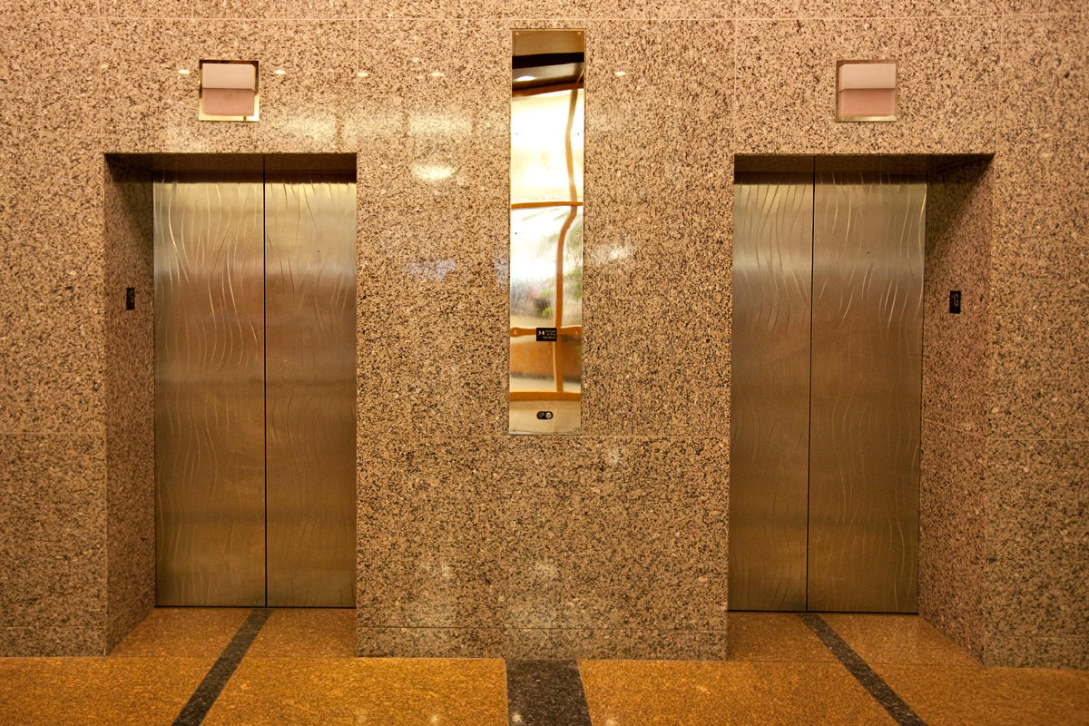 Stainless Steel Elevator Doors | Architectural | Forms+Surfaces