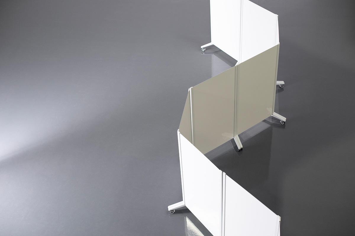 Jot Mobile Glassboards with Diamalite Glass