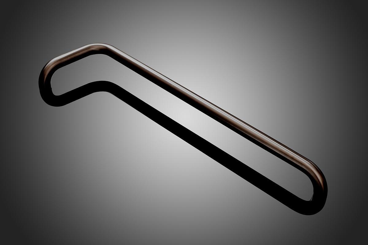Oil rubbed bronze door pulls -  Round Model Dt1552 Shown In Oil Rubbed Bronze Us10b