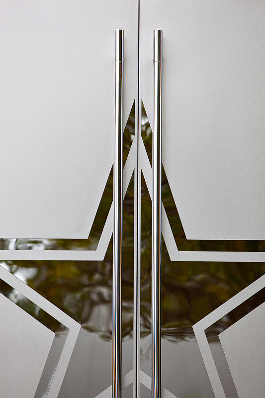 ... Stainless Steel Doors in Mirror Finish with custom Eco-Etch pattern ... & Stainless Steel Doors | Architectural | Forms+Surfaces