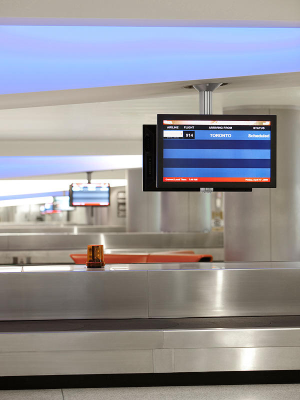 Inform Flight Information Displays Architectural Forms