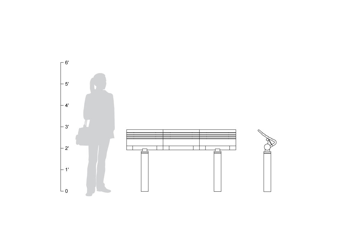 Tecno Rs Seating System Outdoor Forms Surfaces