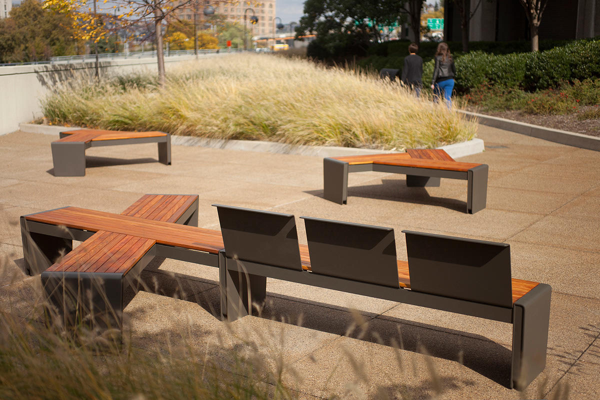 Vector Seating System | Outdoor | Forms+Surfaces