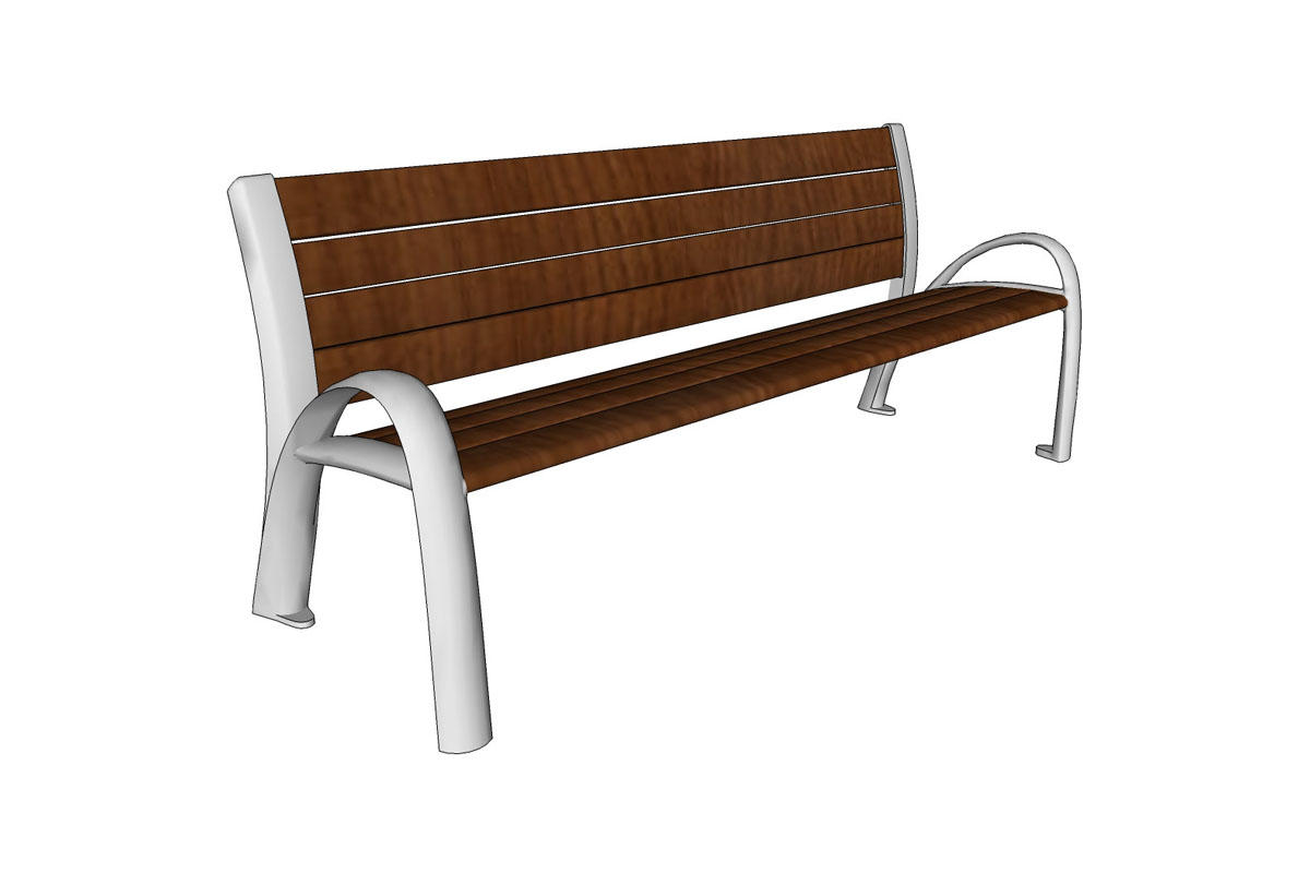 Phenomenal Camber Bench Outdoor Forms Surfaces Theyellowbook Wood Chair Design Ideas Theyellowbookinfo