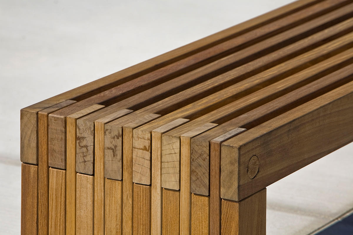 Hudson Bench Outdoor Forms Surfaces