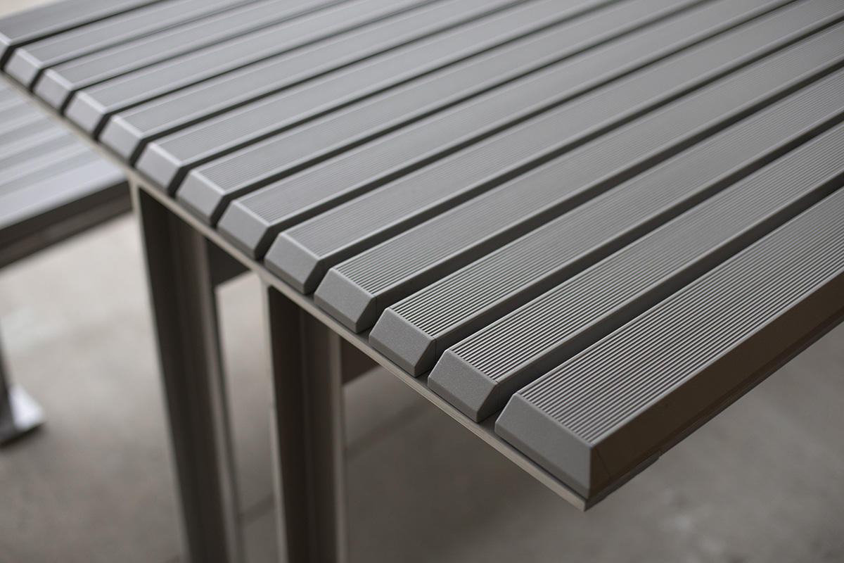 Knight Table Ensemble Outdoor Forms Surfaces