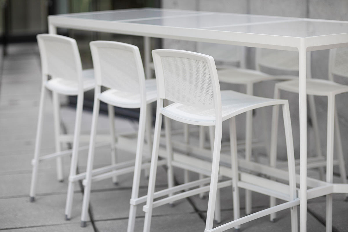 avivo bar height table outdoor forms surfaces
