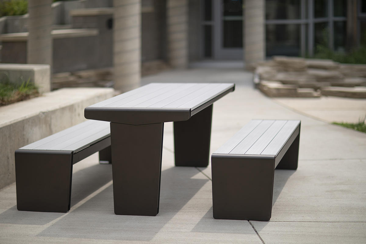Marvelous Vector Table Ensemble Outdoor Forms Surfaces Creativecarmelina Interior Chair Design Creativecarmelinacom