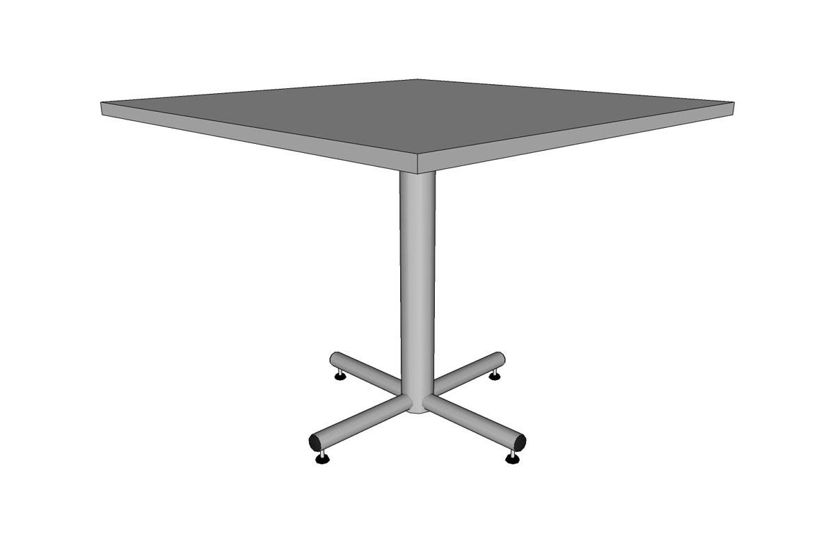 Outdoor round table top 36 -  Cross Table 36 Square Table Top