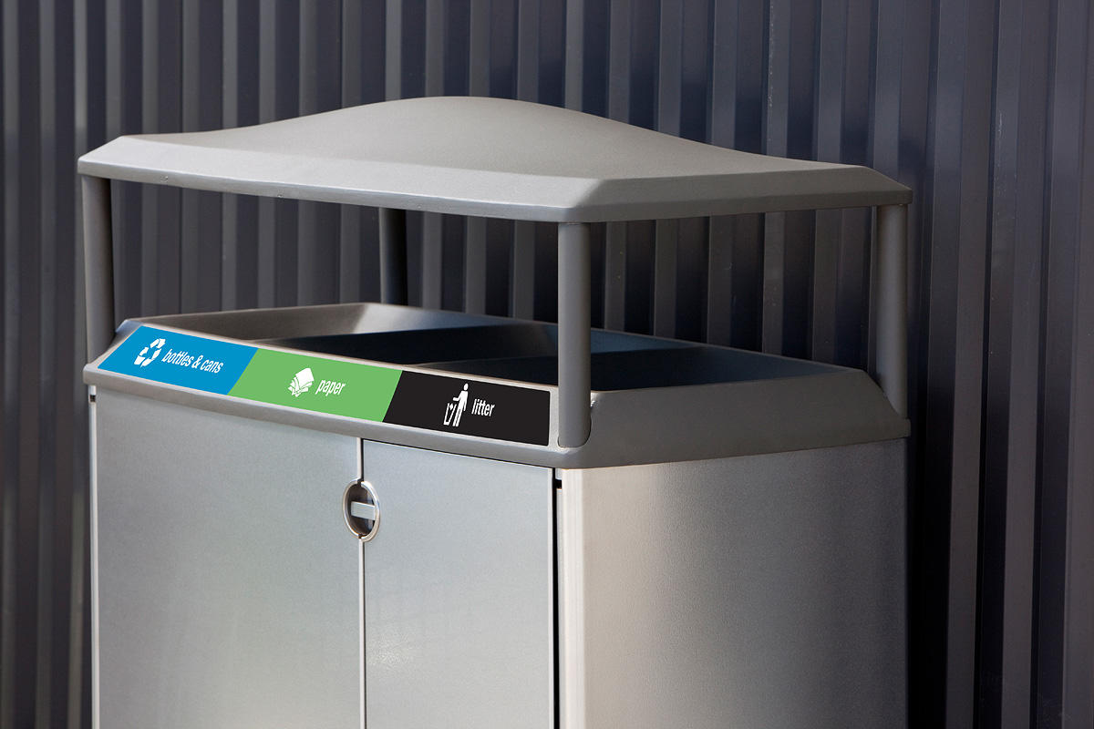 Transit Litter Amp Recycling Receptacle Outdoor Forms