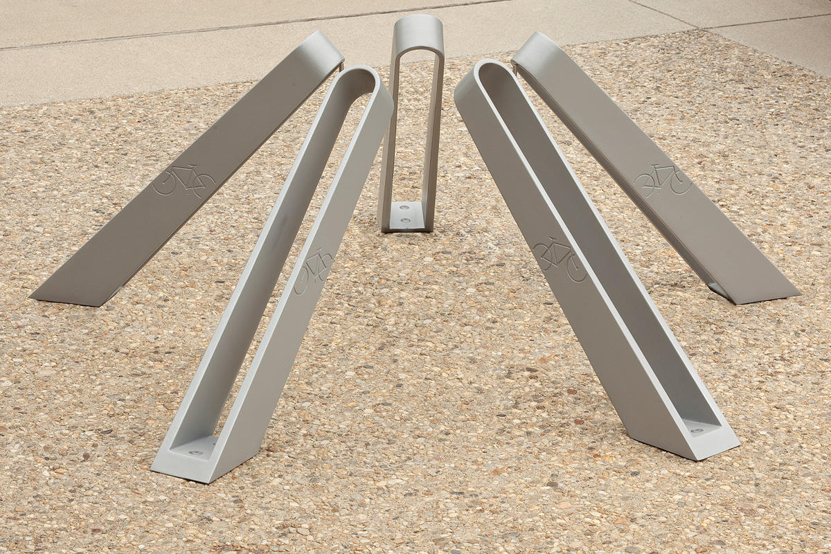Bay City Bike Rack Outdoor Forms Surfaces