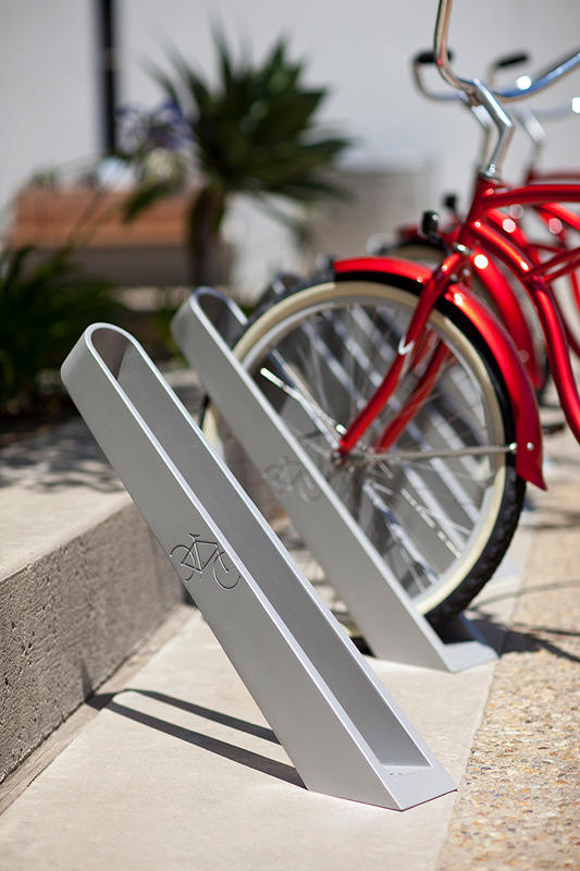 Motorbike Stand Designs : Bay city bike rack outdoor forms surfaces