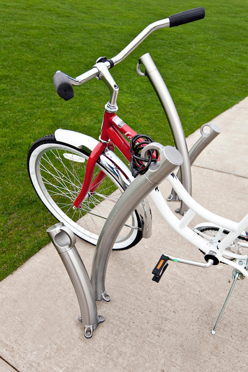 ... Bike Garden Bike Racks, Surface Mount, Satin Finish ...