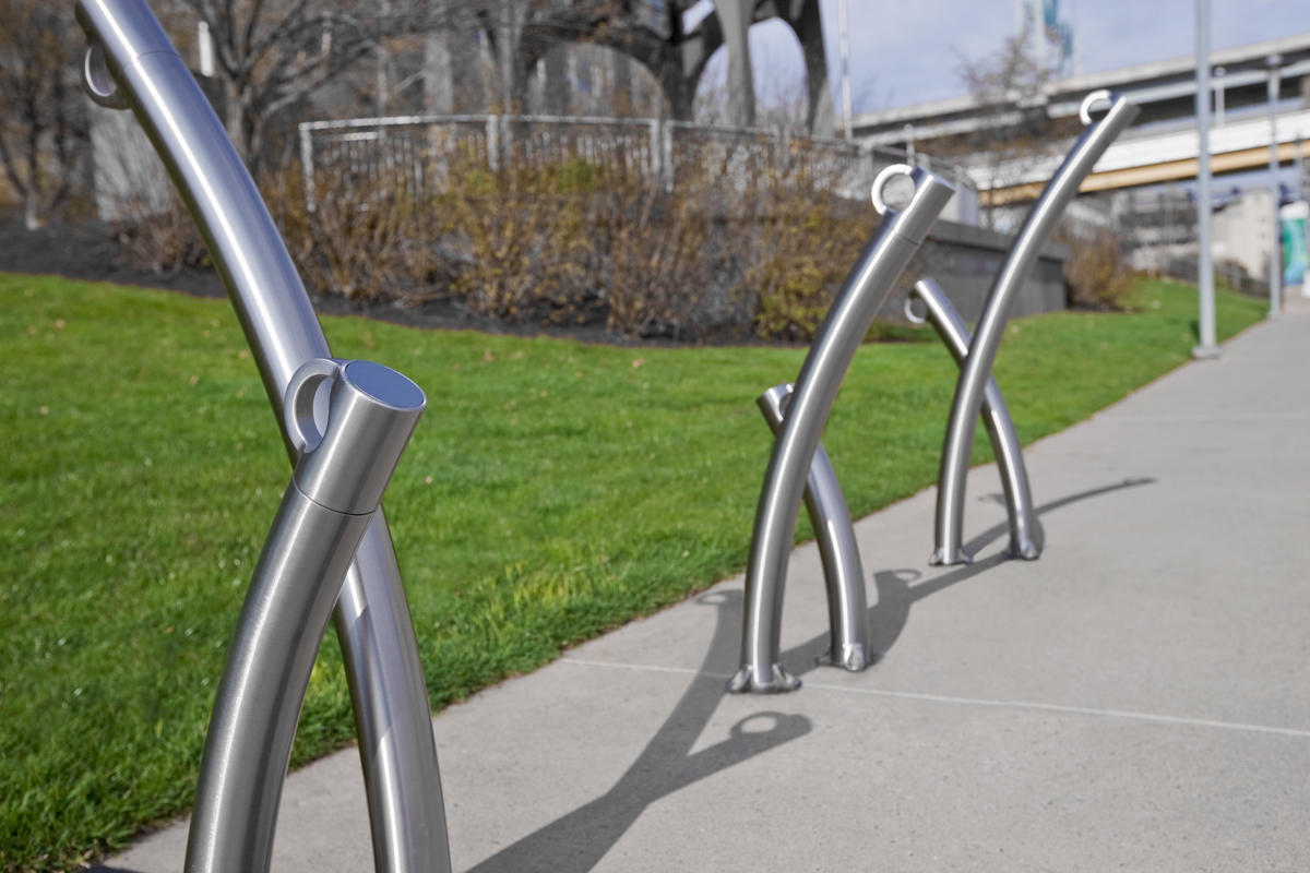 Bike Garden Bike Rack Outdoor Forms Surfaces