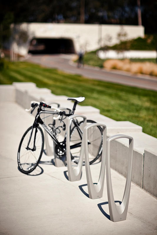 Trio Bike Rack Outdoor Forms Surfaces