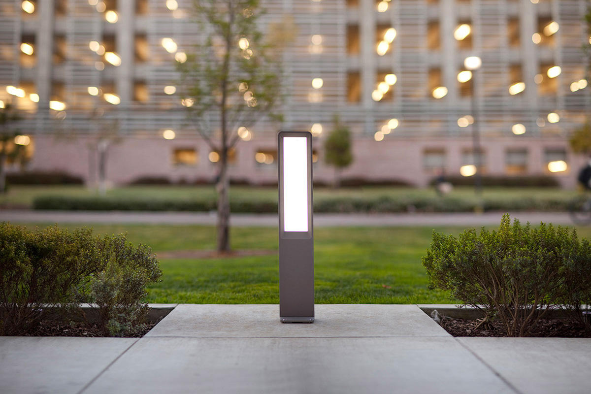 Tangent Bollard Outdoor Forms Surfaces