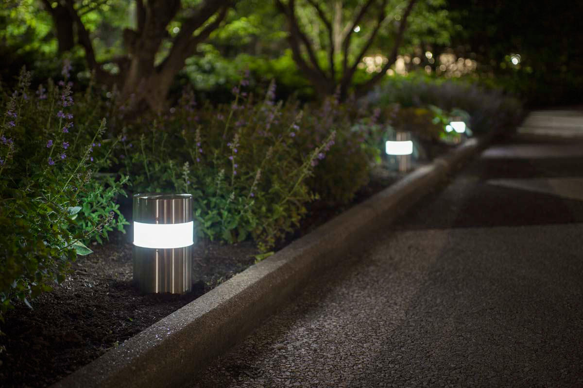 Light Column Pathway Bollard Outdoor Forms Surfaces