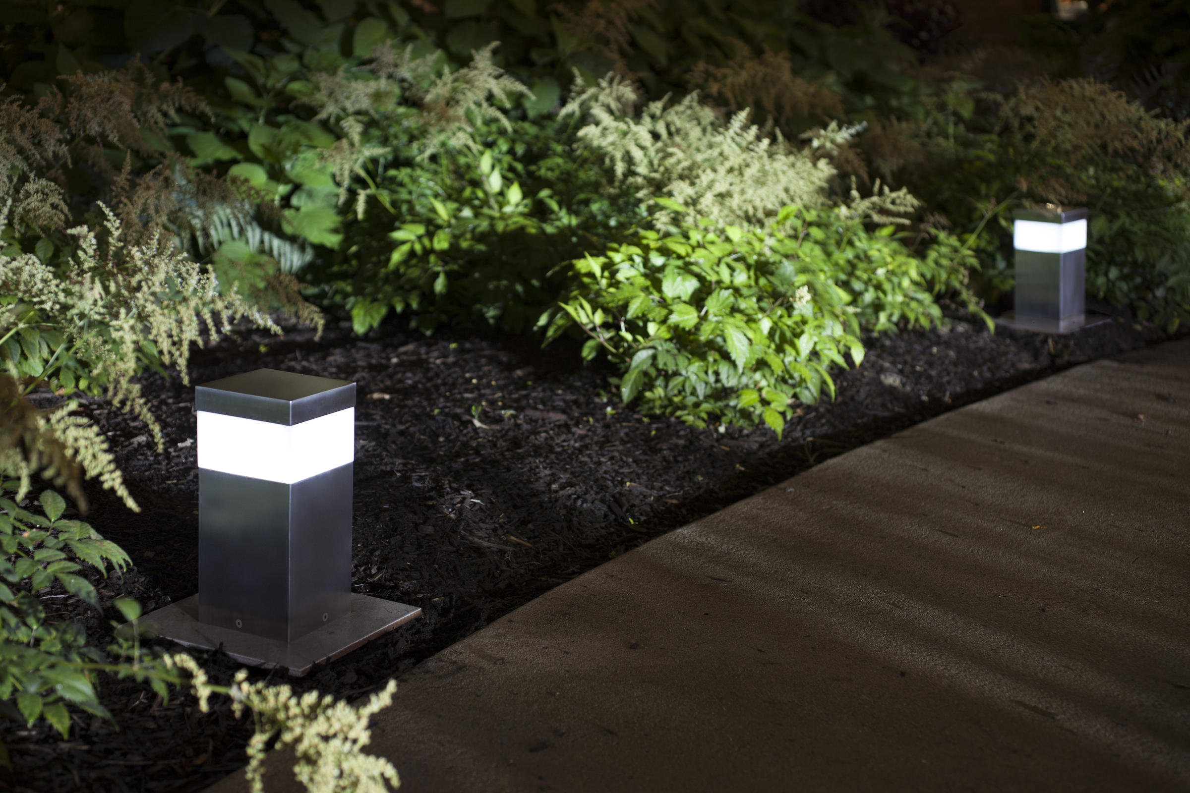 ... Rincon Pathway Bollards shown in Stainless Steel with Satin finish & Rincon Pathway Bollard   Outdoor   Forms+Surfaces azcodes.com
