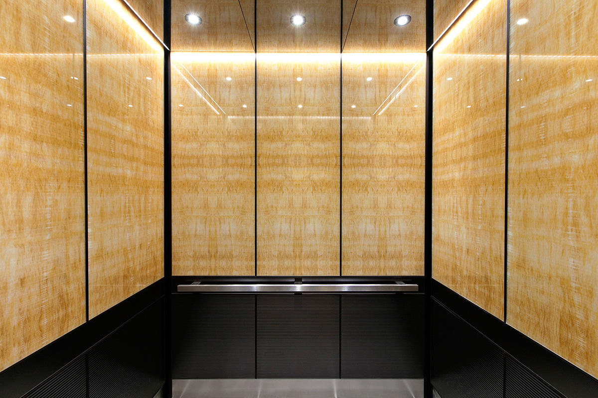 Elevator Wall Panels Interior 176 Broadway Forms Surfaces