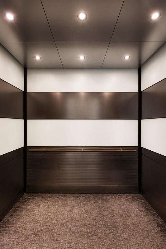 elevator ceilings architectural forms surfaces. Black Bedroom Furniture Sets. Home Design Ideas