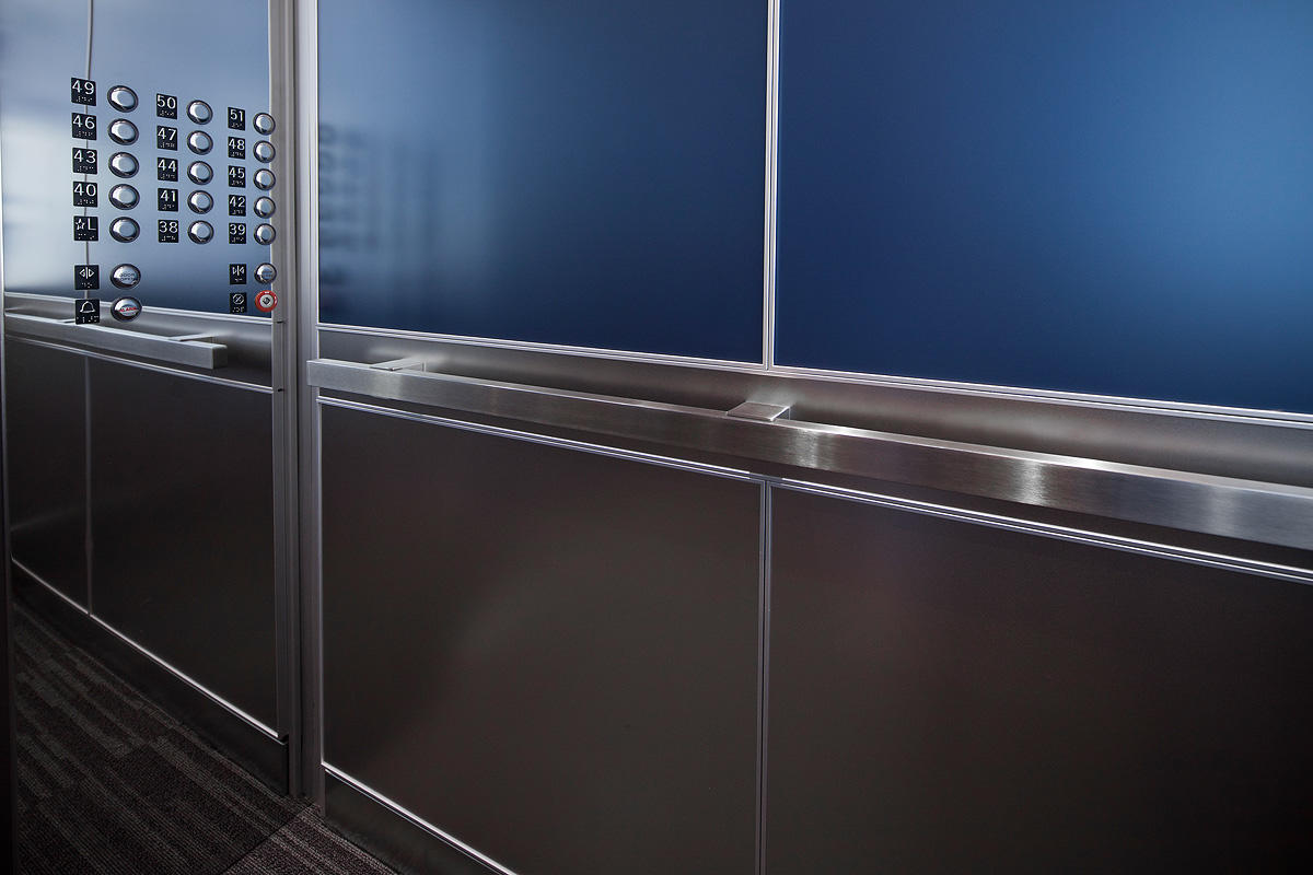 LEVELe-106 Elevator Interiors | Architectural | Forms+Surfaces